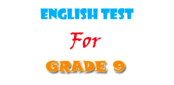 English For Grade 9