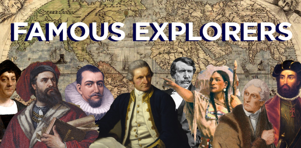 World Famous Explorers! Trivia Facts Quiz