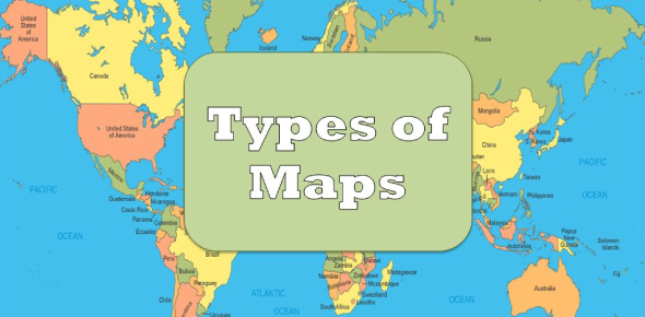 Quiz: Trivia Question On Different Types Of Map!