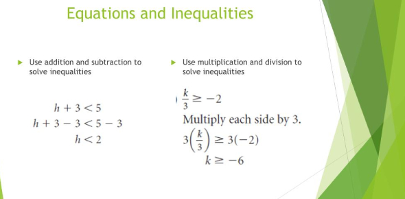 Solving Equations And Inequalities Quiz! Trivia