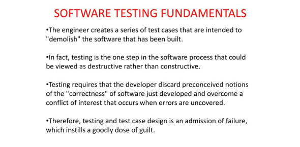 Fundamentals Of Software Testing Quiz: Test