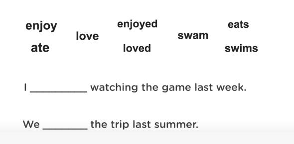 Identify The Correct Verb Tense: Quiz!