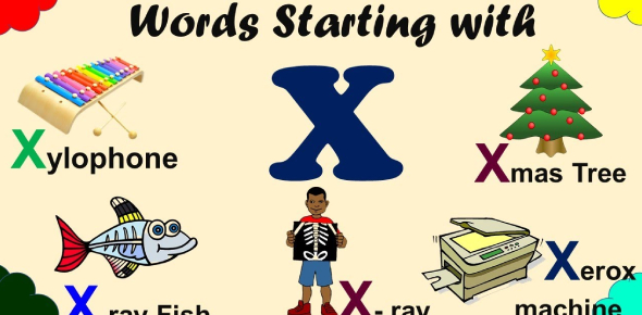 Words That Start With X Quiz