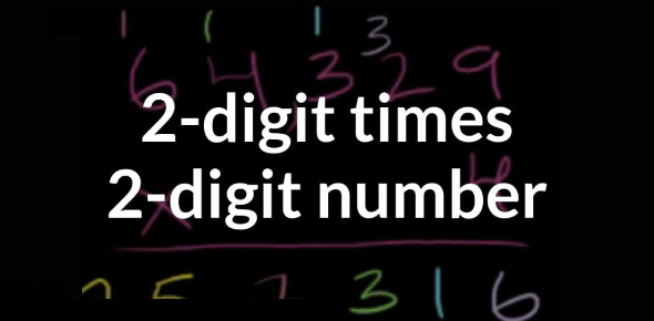 2 Digit By 2 Digit Multiplication Quiz/Test
