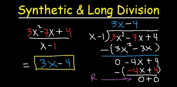 Synthetic And Long Division Test! Trivia Quiz
