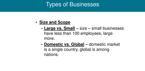 A Trivia Quiz On Types Of Businesses!
