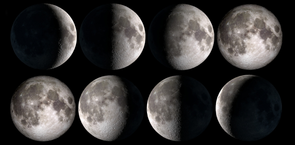 A Short Moon Phases Quiz!