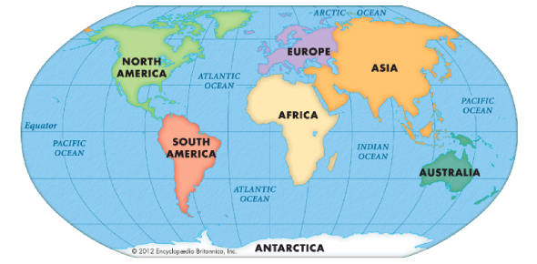 North America: World Geography Quiz!
