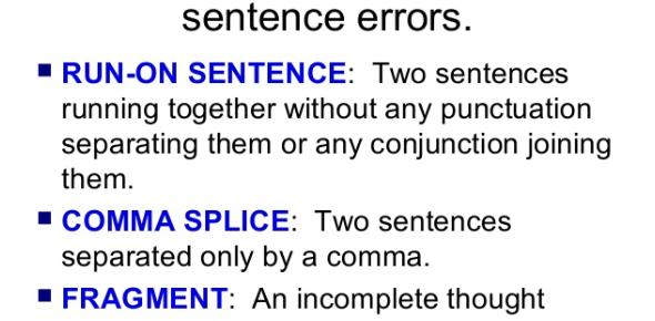 Sentence Error MCQ Quiz: Trivia