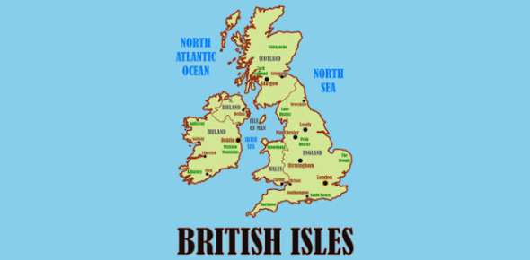 Geography Quiz About The British Isles!