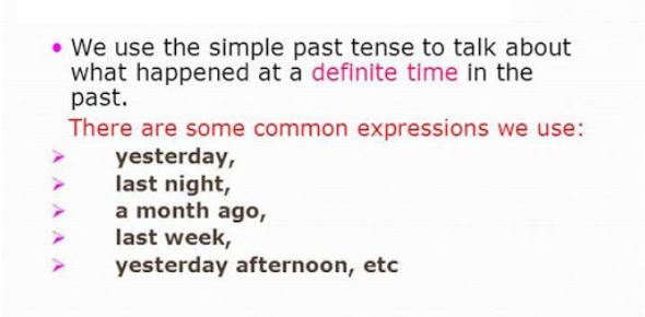 Past Simple Tense Quiz: Exam!