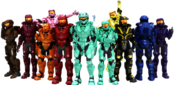 Which Red Vs Blue Character Are You Quiz!