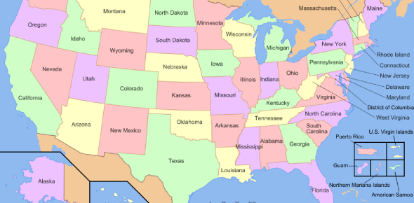 United States Geography Test! Quiz