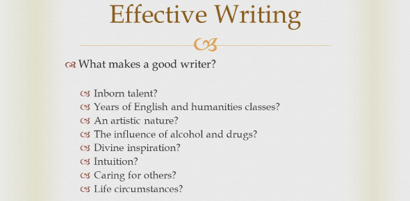 Quiz: The Traits Of Effective Writing! Trivia Test