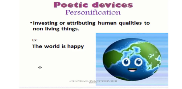 A Quiz About Poetic Devices