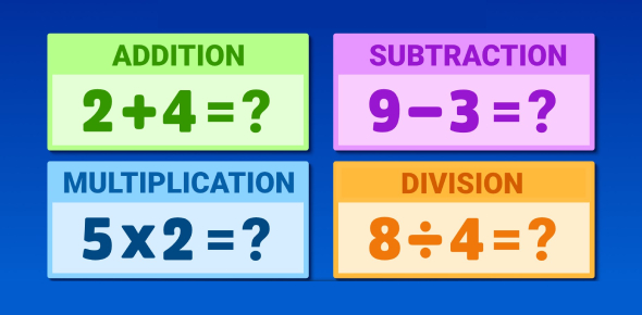 Basic Addition, Subtraction, Multiplication, And Division