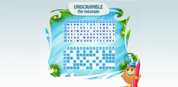 Matching Words On Unscramble Words Trivia