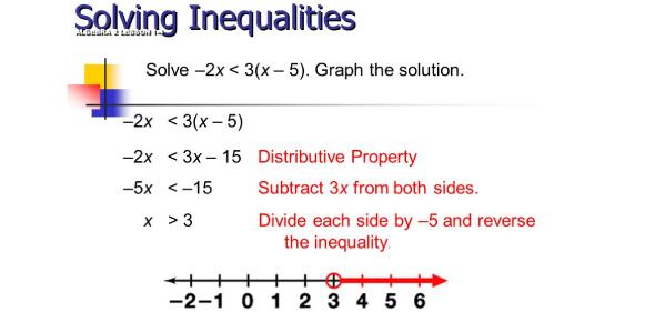 Solving Inequalities Math Test! Trivia Quiz
