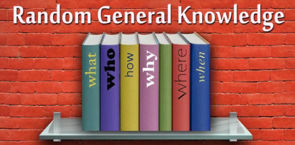 A Random General Knowledge Quiz