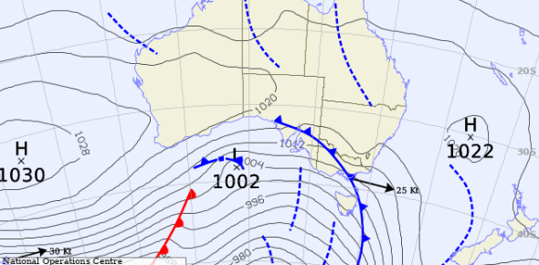 Test Your Knowledge About Synoptic Weather Chart! Trivia Quiz