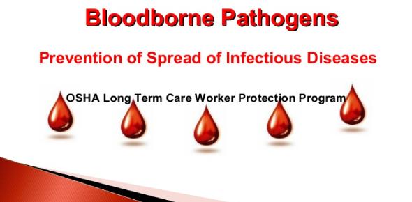 Bloodborne Pathogens - Acknowledgement Of Training