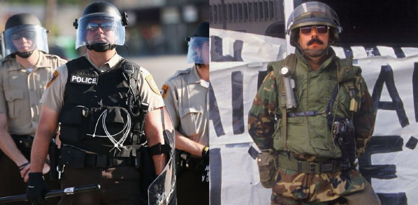 A Quiz About Cop Or Soldier?