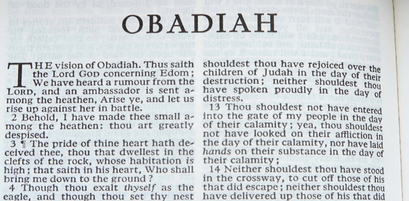 The Book Of Obadiah Quiz! Trivia Questions