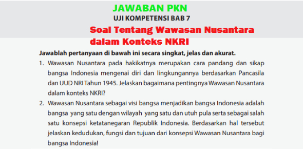 Soal Wawasan Nusantara Proprofs Quiz