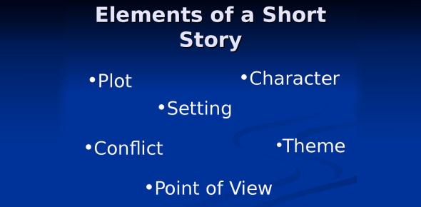 Short Story Quiz: Elements!