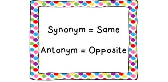 English Grammar Quiz: Synonym & Antonym