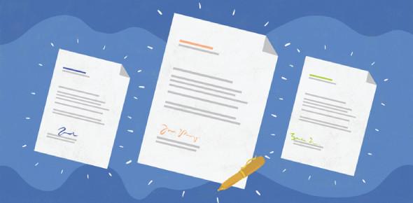 Trivia On Block Form Business Letter: Quiz