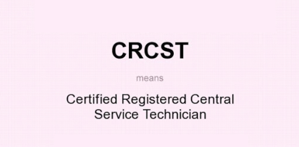 CRCST Certification Exam Sample Questions