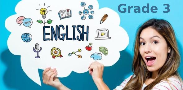 English Test Grade 3: Quiz!