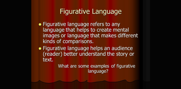 Figurative Language And Stylistic Device Pre-test
