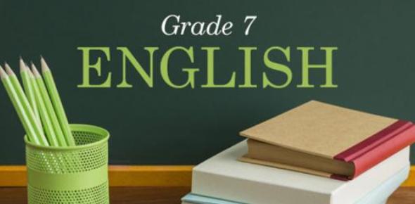 A 7th Grade English Practice Quiz!