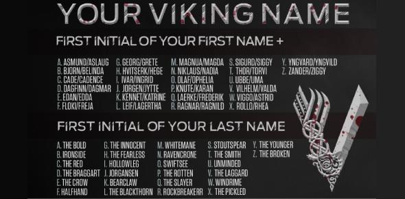 Viking Name Generator