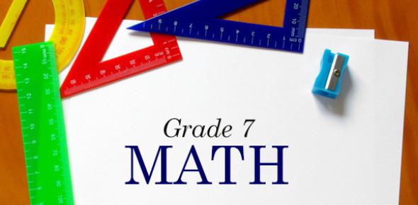 Grade 7 Math Practice Exam Quiz!