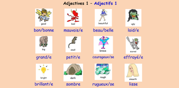 Ultimate French Adjectives Trivia Quiz