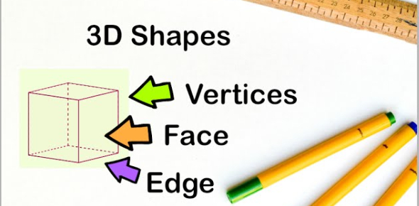 3D Shapes Faces, Vertices And Edges Quiz