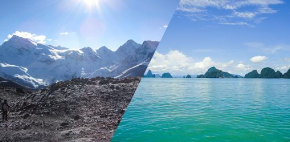 Are You A Mountains Or An Oceans Person?