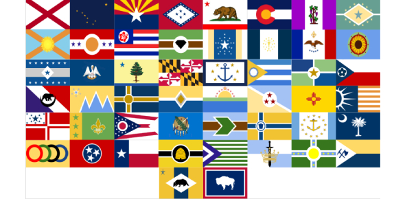 Do You Know Your U.S. State Flags?