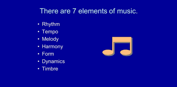 Elements Of Music! Basic Knowledge! Trivia Quiz