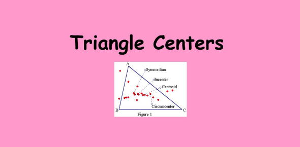 Trivia Quiz On Triangle Centers! Math Trivia