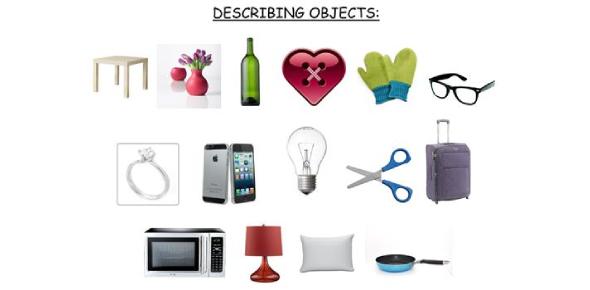 Describing Objects Test: Grammar Quiz!
