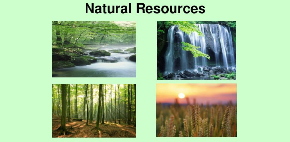 Natural Resources! A Quick Trivia Quiz!