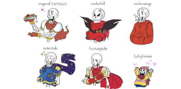 What Undertale Sans And Papyrus Are You (Au)