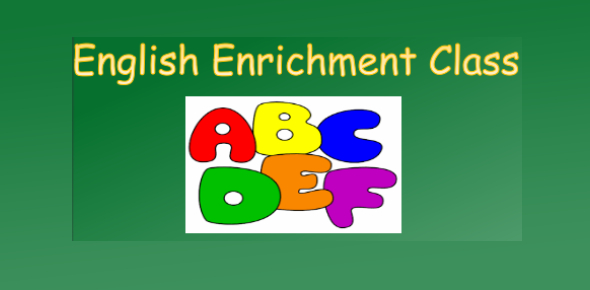 Worksheet 1 - English Enrichment Class