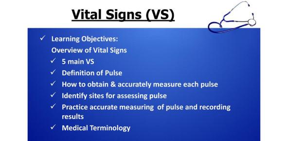 Foundation Of Nursing Chapter IV: Vital Signs! Quiz