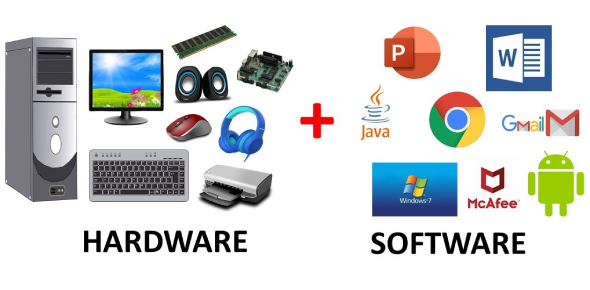 This Quiz Covers The Basics Of Computer Softwares And Hardwares