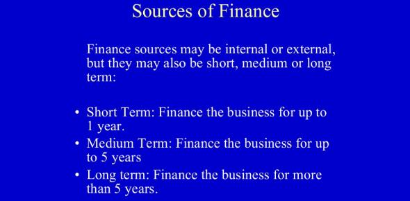 Sources Of Finance MCQ Test: Quiz!